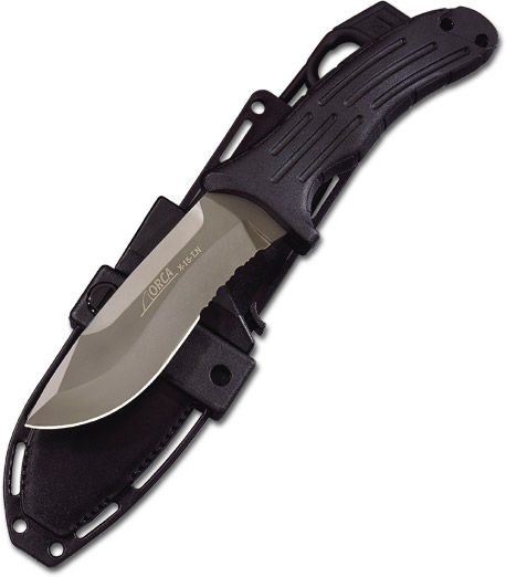 Boker Orca Dive Knife Made From The Same Steel As Jet